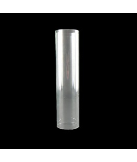200mm Clear Glass Cylinder with 49mm Base