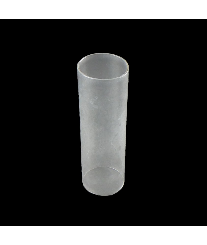 154mm Clear Glass Cylinder Glass Shade with 47mm Base