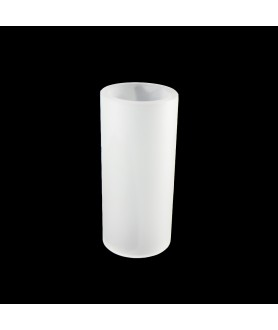 110mm Frosted Glass Cylinder with 50mm Base