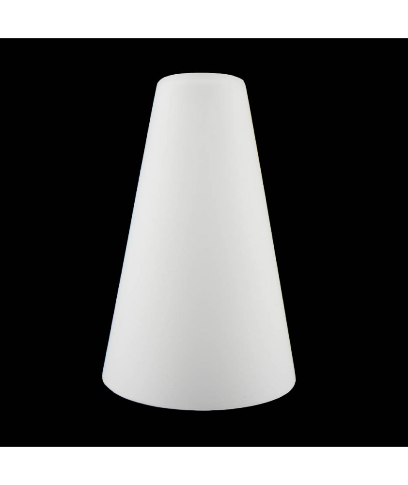 Small Opal Cone Light Shade with 30mm Fitter Hole