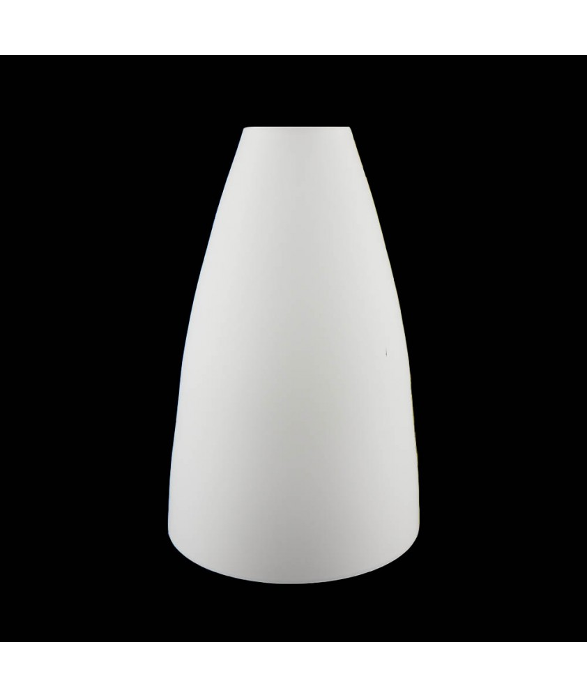 Large Opal Cone Light Shade with 42mm Fitter Hole