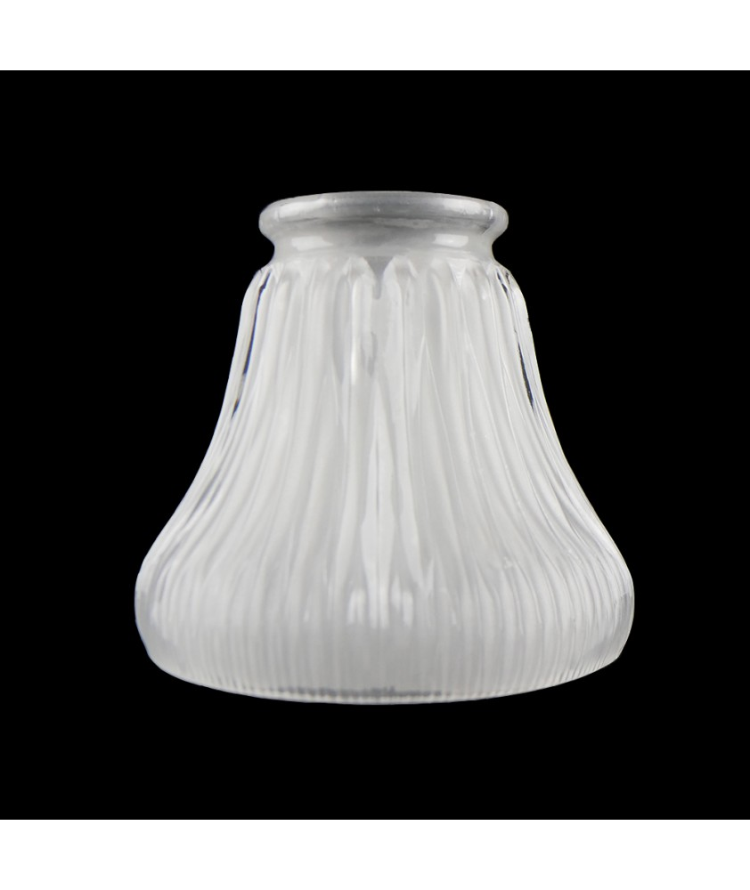 Internally Etched Prismatic Shade with 55mm Fitter Neck