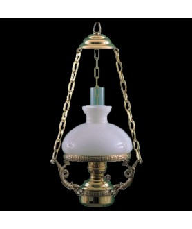Saloon Oil Lamp With Shade