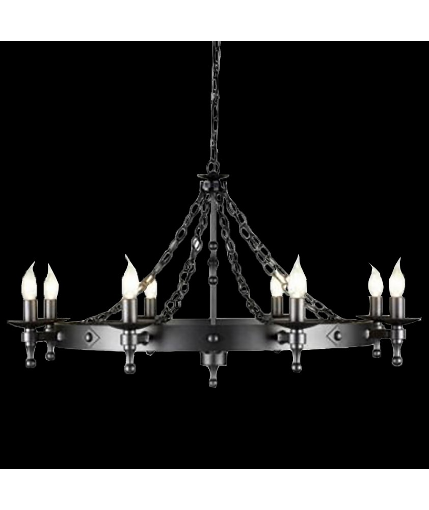 Warwick 8 Light Chandelier