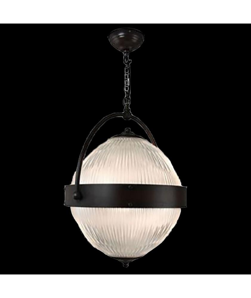 Prismatic Globe Lantern with Medium Central Band