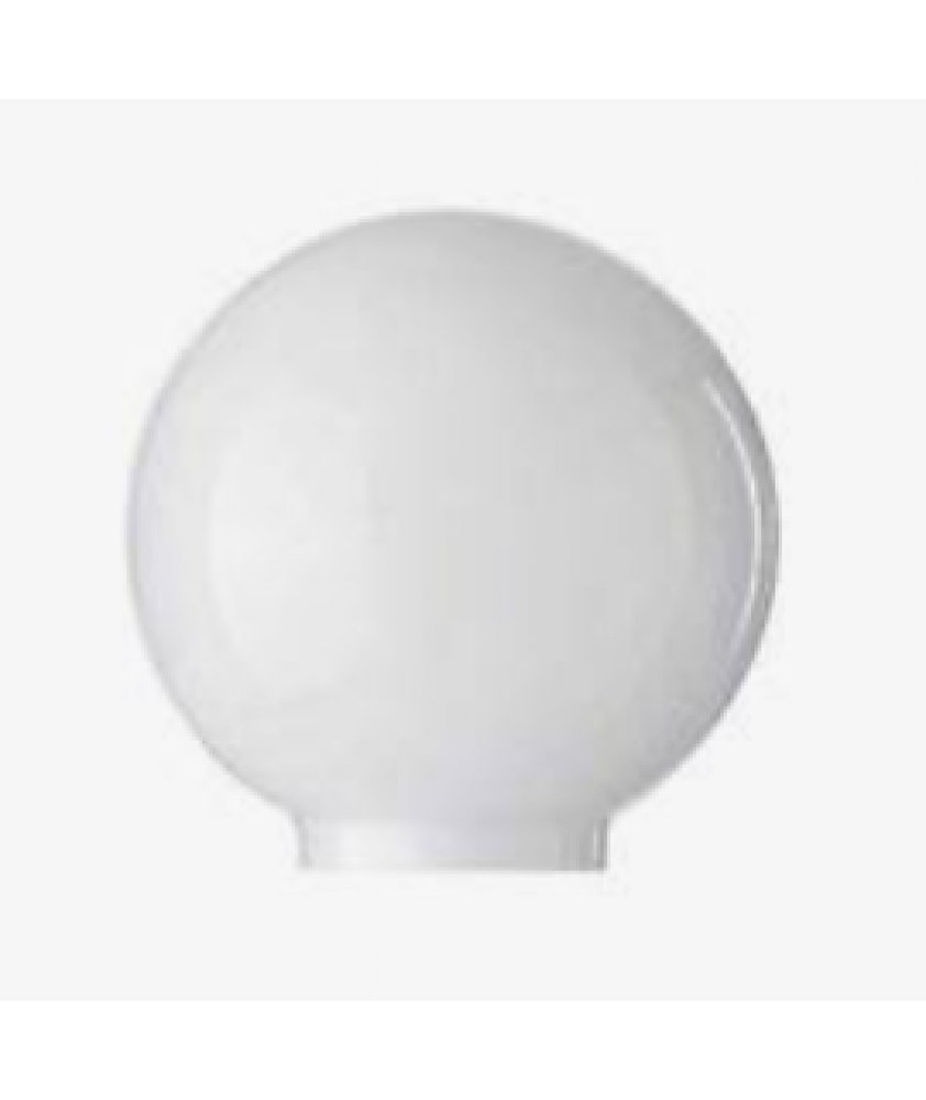 150mm Opal Acrylic Globe with 80mm Fitter Neck