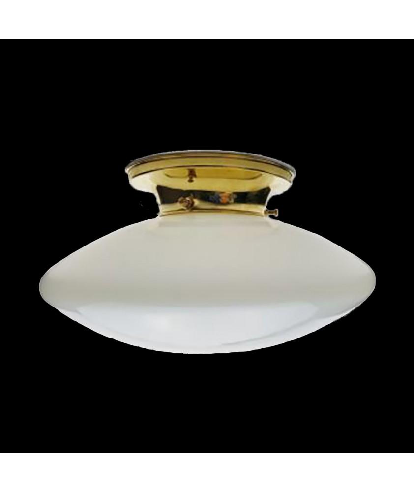 Opal Flying Saucer Ceiling Light