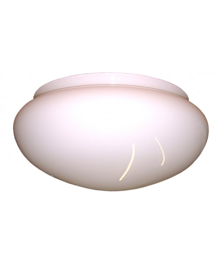 White Opal Ceiling Bowl 300mm