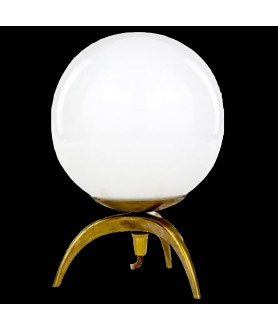 Small Opal Orb Table Lamp