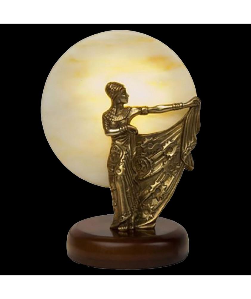 Small Statuette Brass