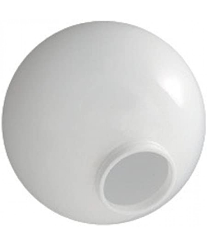 Opal Polycarbonate Globes with Neck Various Sizes
