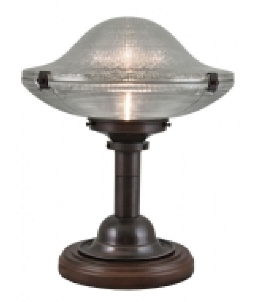 Cross Reeded Table Lamp