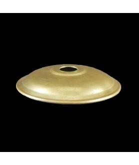 Brass rolled Edge Sconce 60mm Diameter