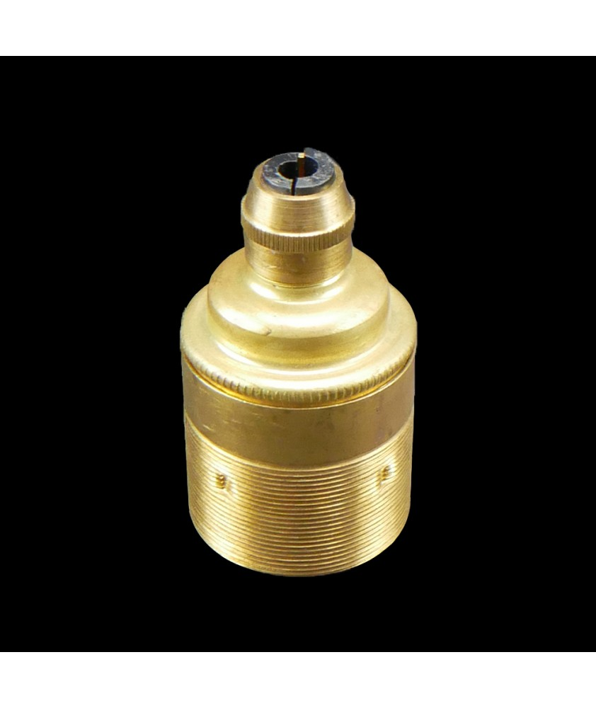E27 Bulb Holder with Cord Grip in Various Finishes
