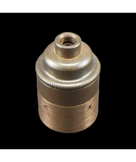 E27 Bulb Holder with 10mm Hole in Various Finishes