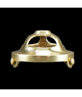 57mm Open Brass Gallery