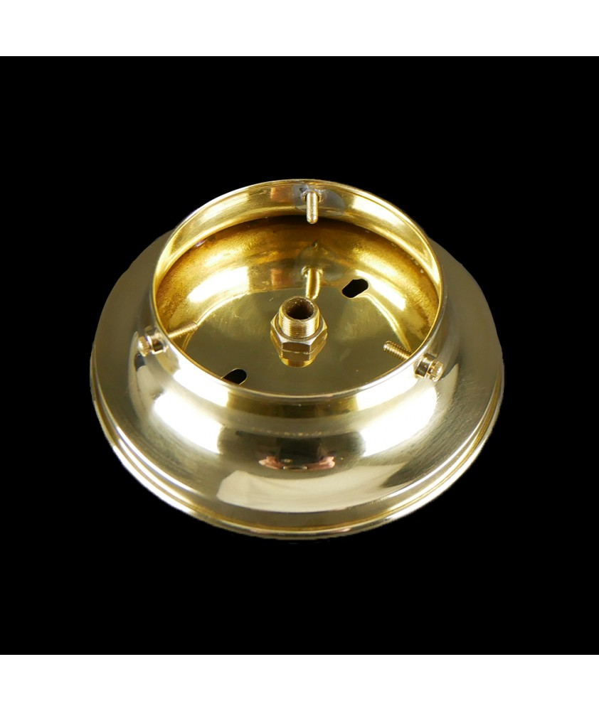 100mm Ceiling Gallery in Brass or Chrome