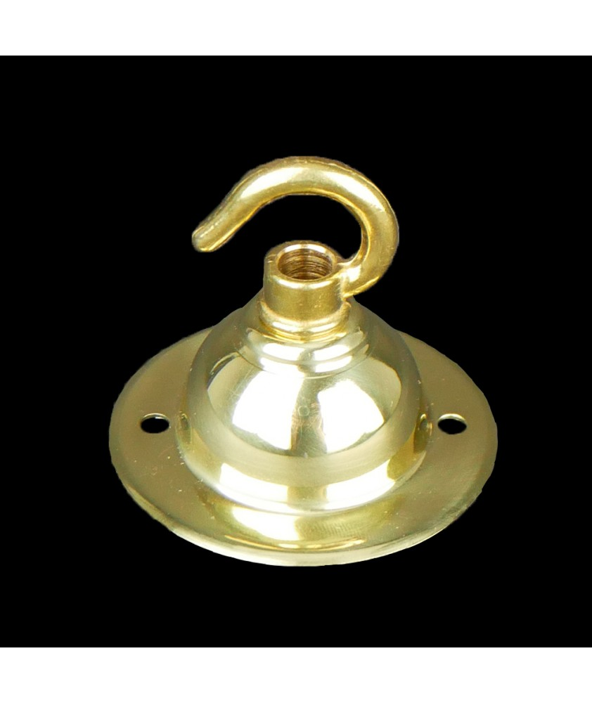 65mm Ceiling Plate with Hook in Various Finishes