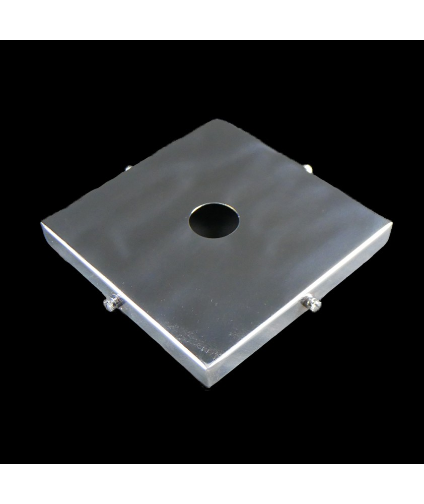 125mm Chrome Square Gallery