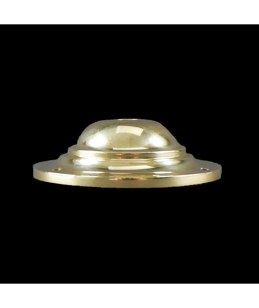95mm Ceiling Plate Cast Brass