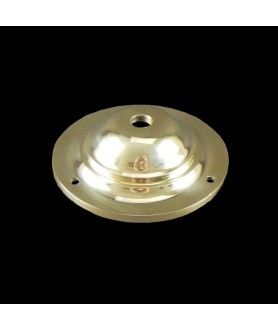 100mm Ceiling Plate in Cast Brass  over 100kg