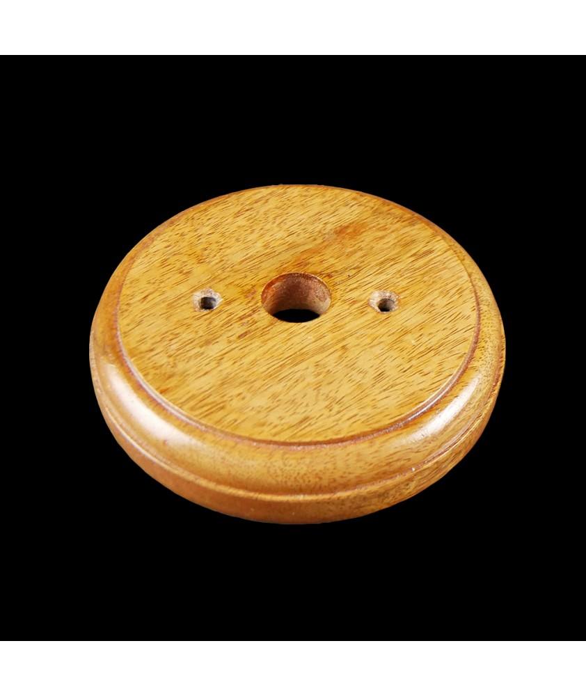 125mm Wooden Back Plate Gloss
