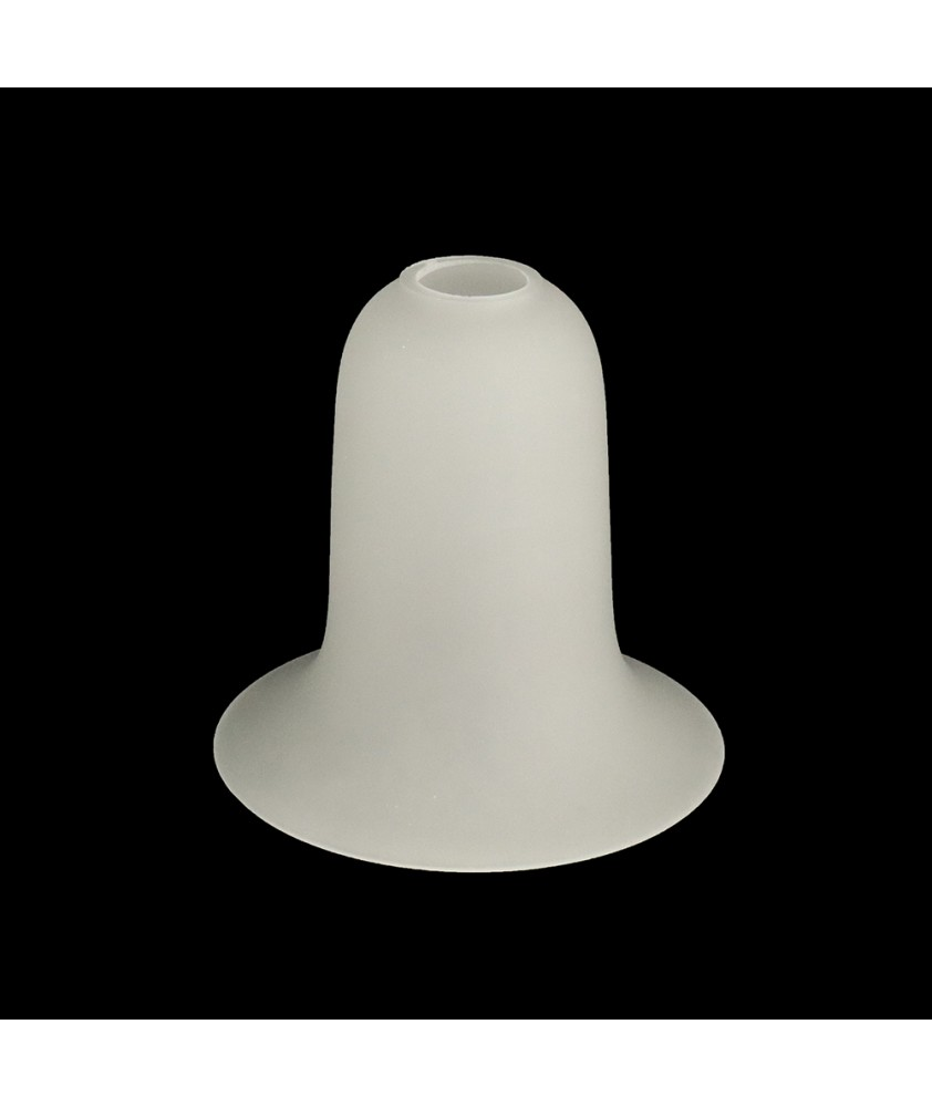 130mm Classic Etched Tulip/Bell Light Shade with 28mm Fitter Hole