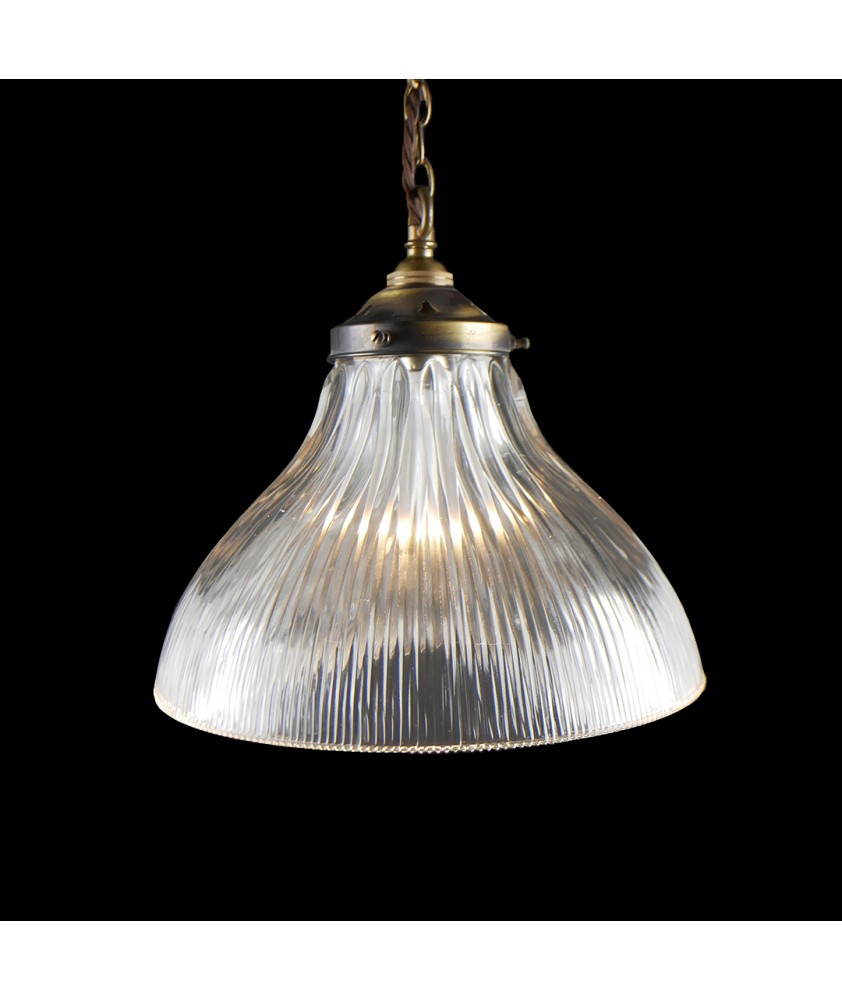 265mm Prismatic Light Shade with 80mm Fitter Neck