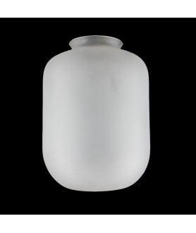 Etched Jar Shade with 80mm Fitter Neck