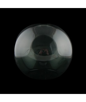150mm Smoked Glass Globe With 40mm Fitter Hole and 100mm Second Hole