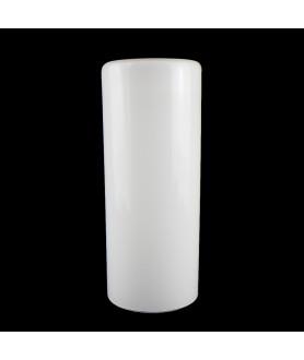 300mm Custom Blown Opal Cylinder With 120mm Base Diameter