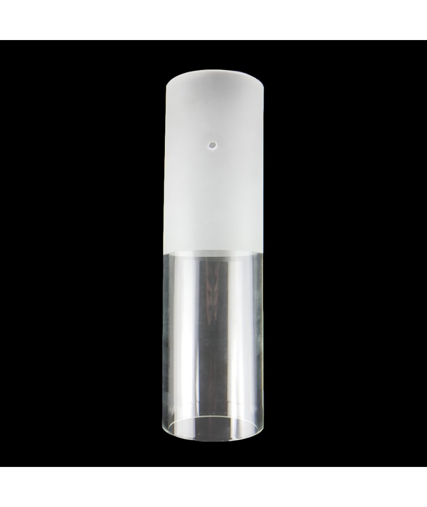 305mm Half Etched Cylinder with 3 Holes and 90mm Diameter