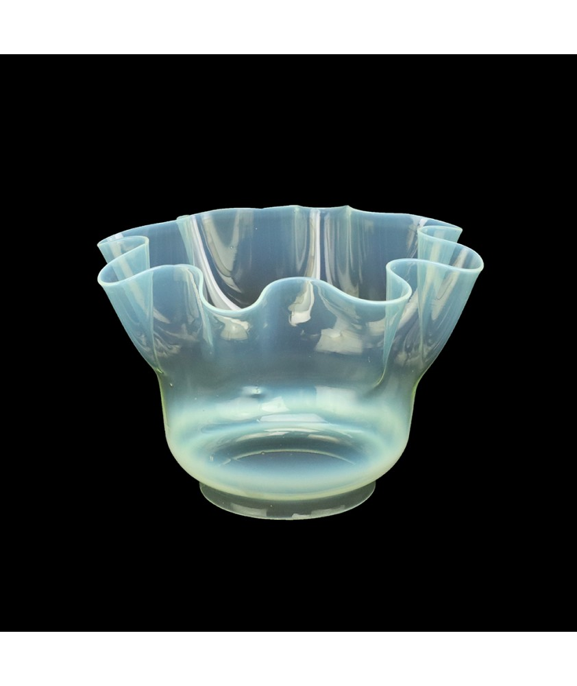 Vaseline Oil Lamp Shade with 95mm Base