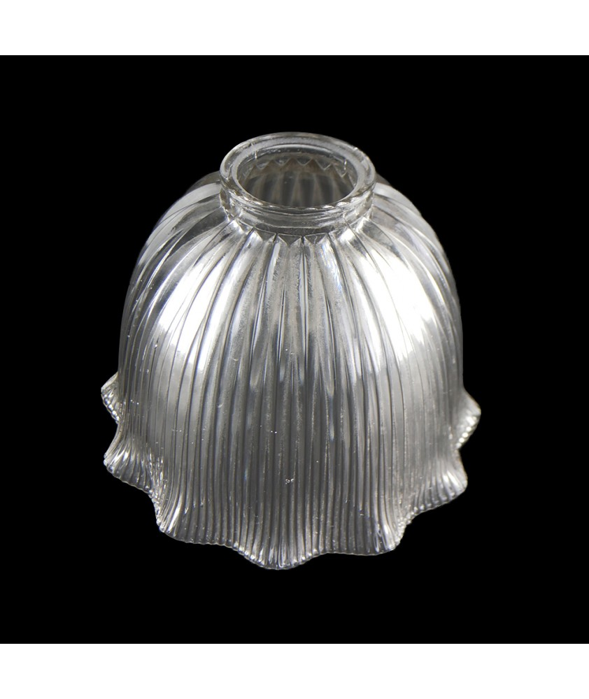Frilled Prismatic Tulip Shade with 57mm Fitter Neck