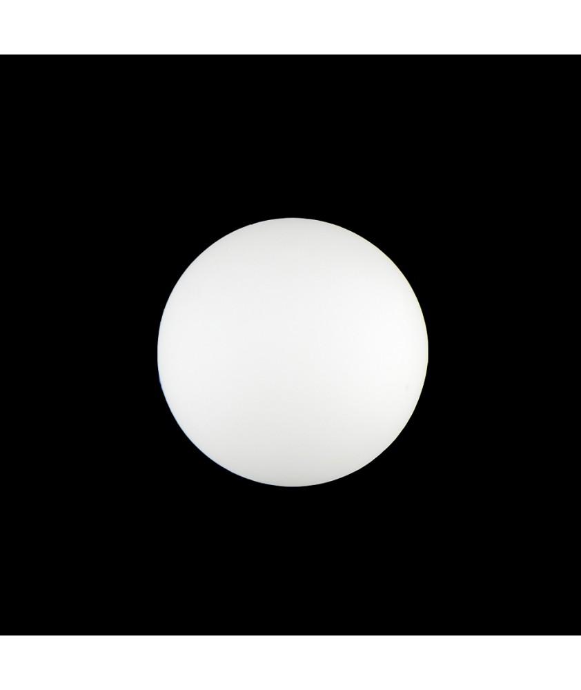 60mm Matt Opal Globe with 12mm Fitter Neck
