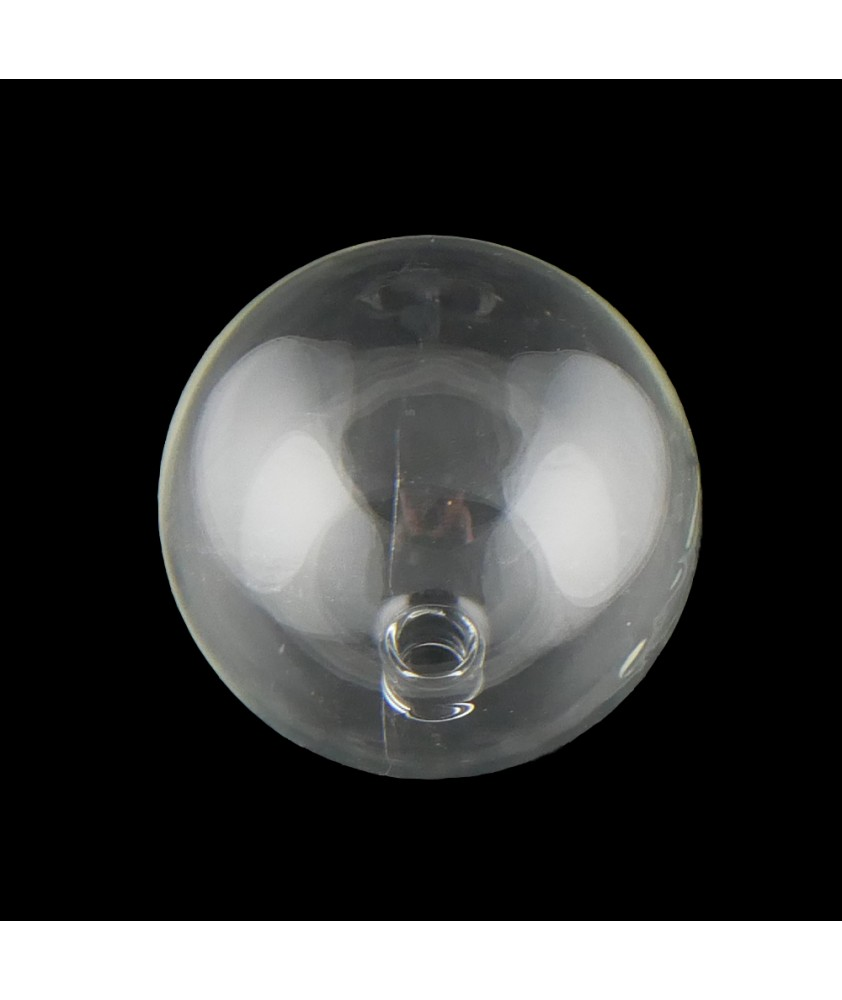 80mm Clear Globe with 12mm Fitter Neck
