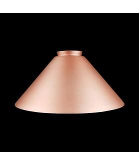 245mm Matt Copper Coolie Light Shade with 57mm Fitter Neck