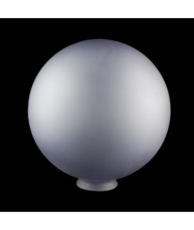 250mm Smoked Matt Glass Globe with 80mm Fitter Neck