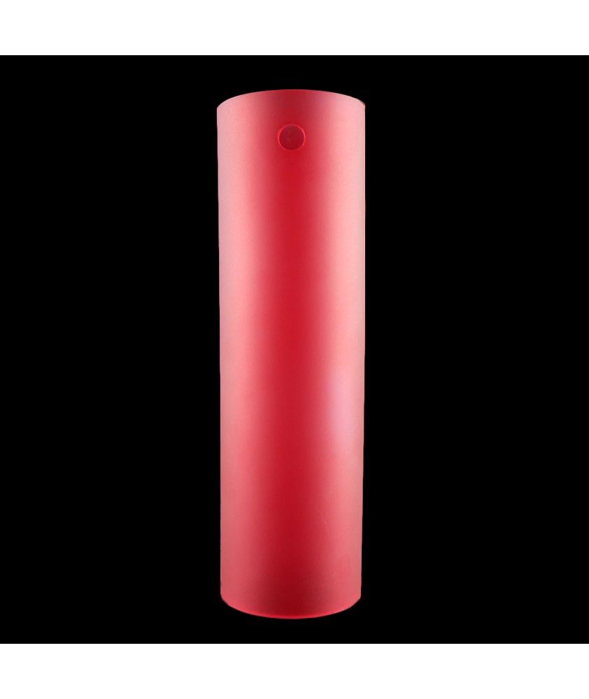 300mm Matt Red Cylinder with 3 Arm Fitting
