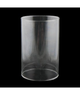 150mm Clear Glass Cylinder with 100mm Fitter