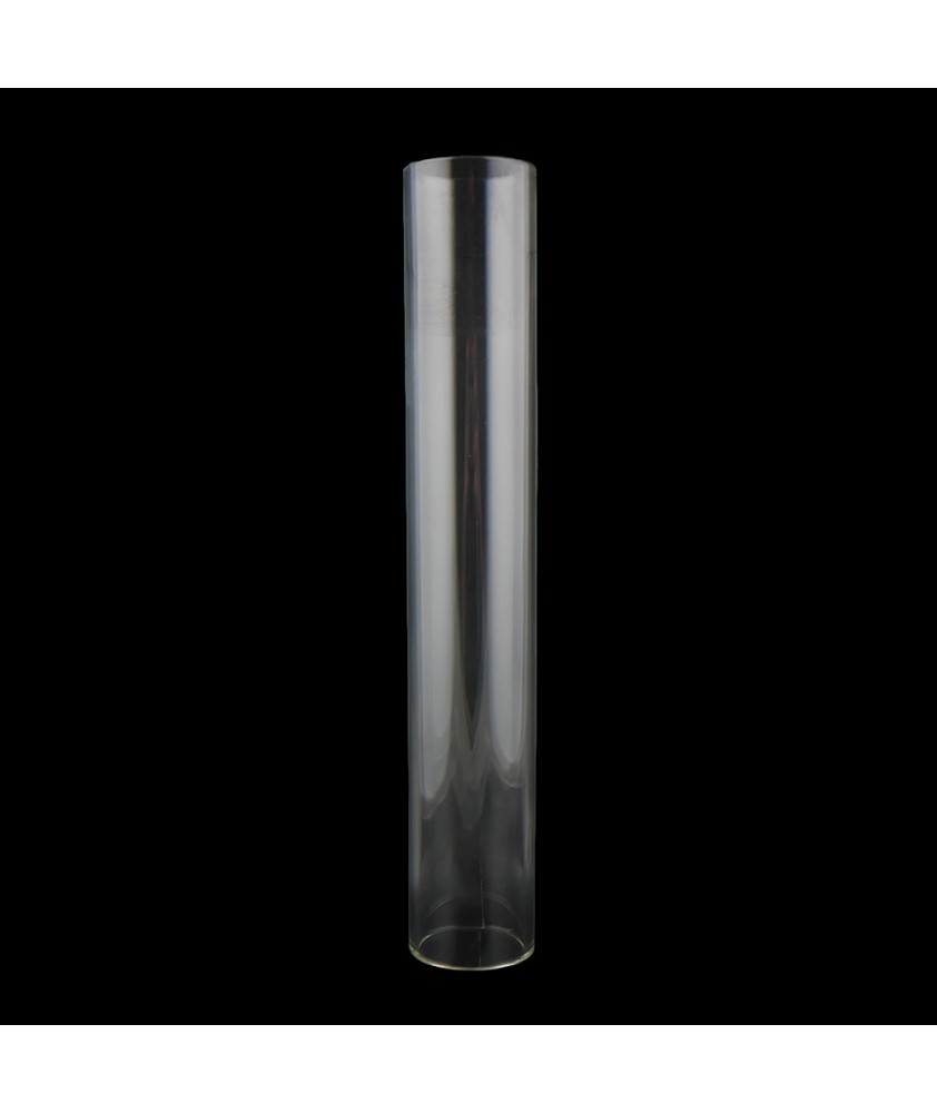 250mm Clear Glass Cylinder with 42mm Fitter