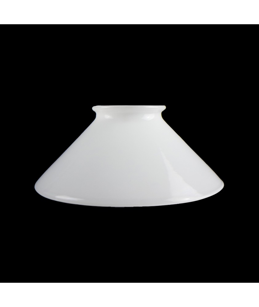 150mm Opal Coolie Light Shade with 57mm Neck
