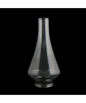270mm Victorian Style Oil Lamp Chimney with 80mm Base