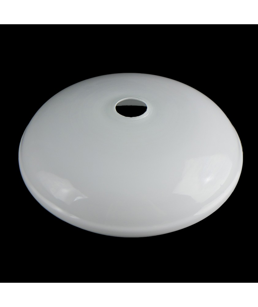 Shallow Opal Shade Ceiling with 30mm Fitter Hole