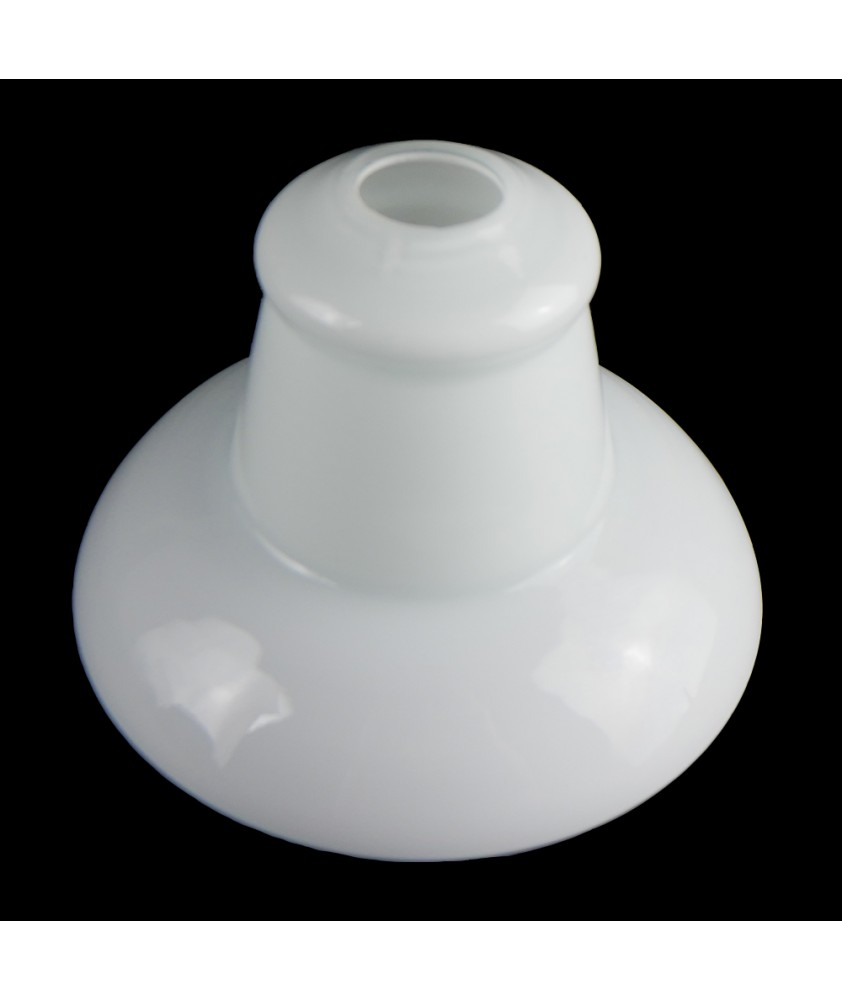 Vintage Opal Flared Bell Shade with 30mm Fitter Hole