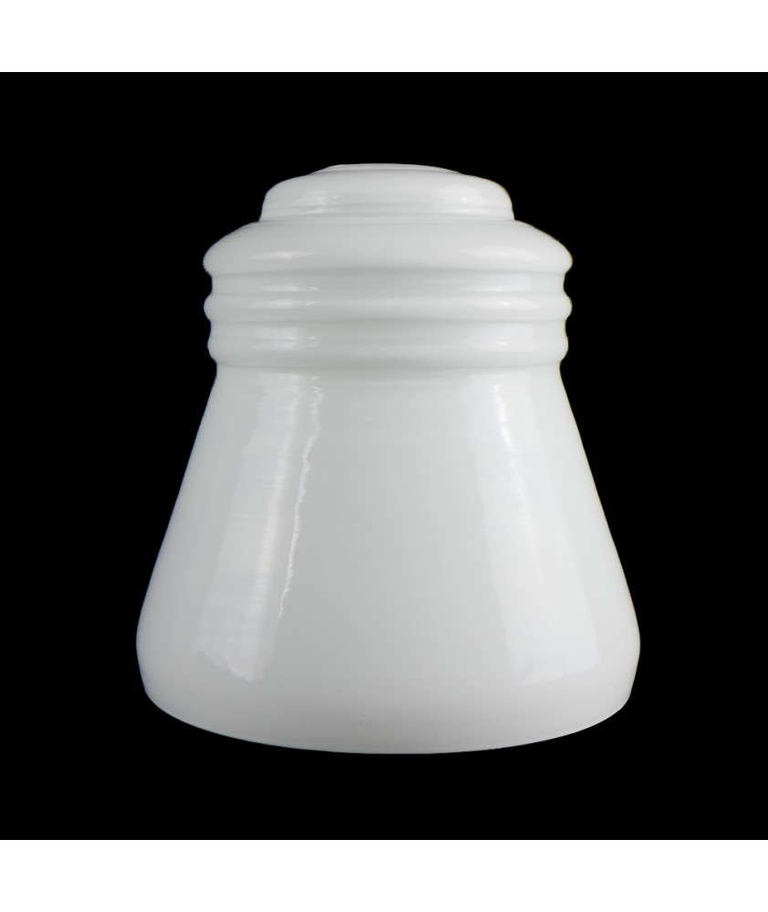 Opal Bell Shade with 30mm Fitter Hole