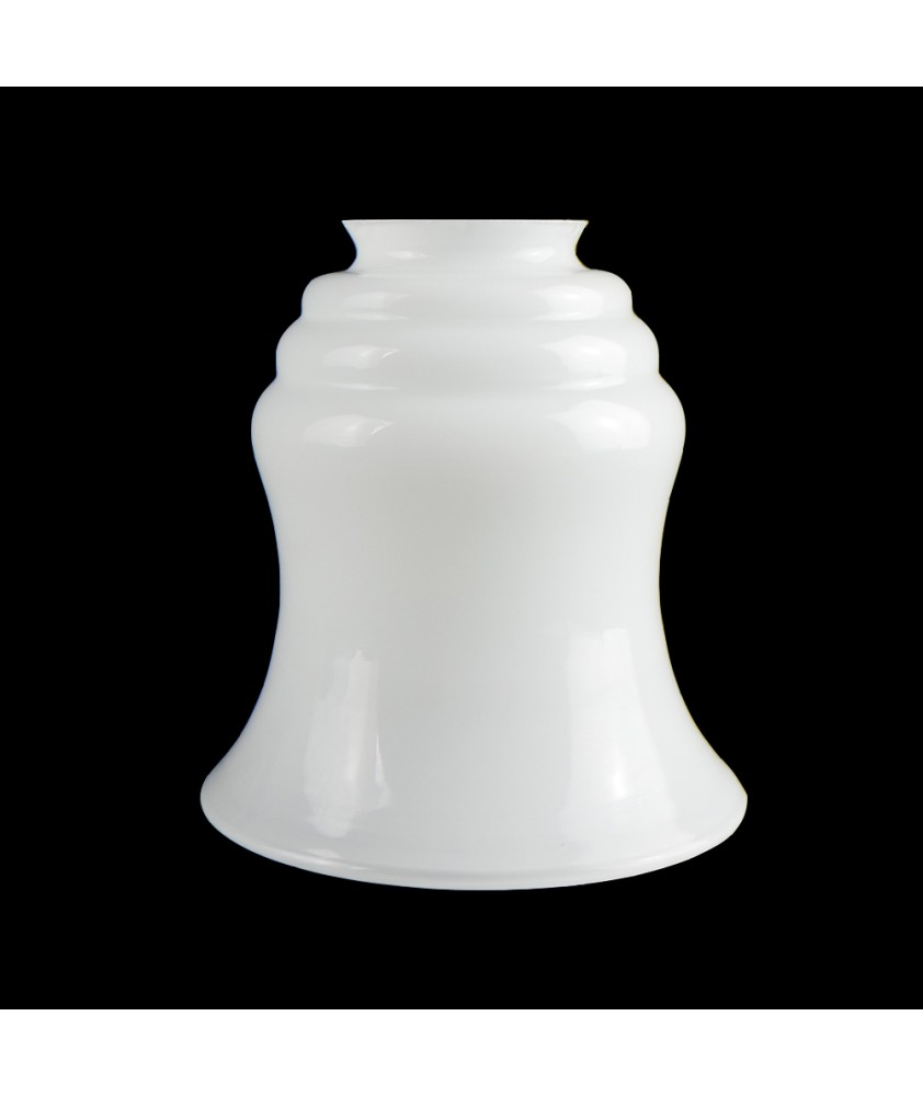 Opal Bell Light Shade with 57mm Fitter Neck