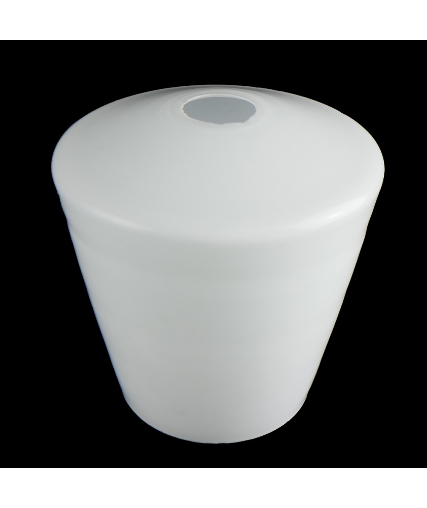 Frosted Opal Tulip Style Ceiling Light Shade with 30mm Fitter Hole