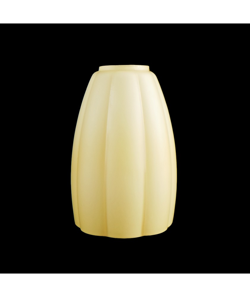 Small Amber Ombre Tulip Shade with 30mm Fitter Hole