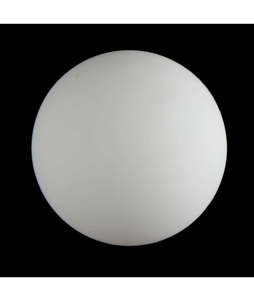 180mm Matt Opal Globe with 65mm Fitter Hole